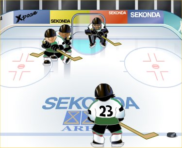 Ice Car Hockey Game